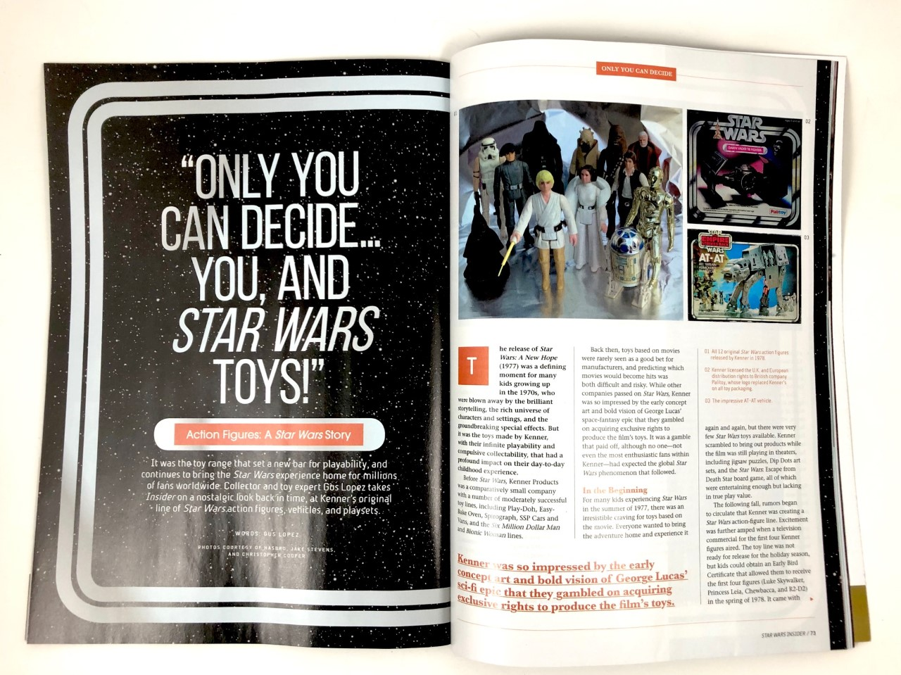 """Action Figures: A Star Wars Story"" Insider #189"