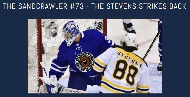 The Sandcrawler #73 – The Stevens Strikes Back