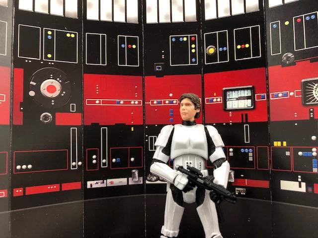 Cardboard Galaxy's Death Star Control Room Display