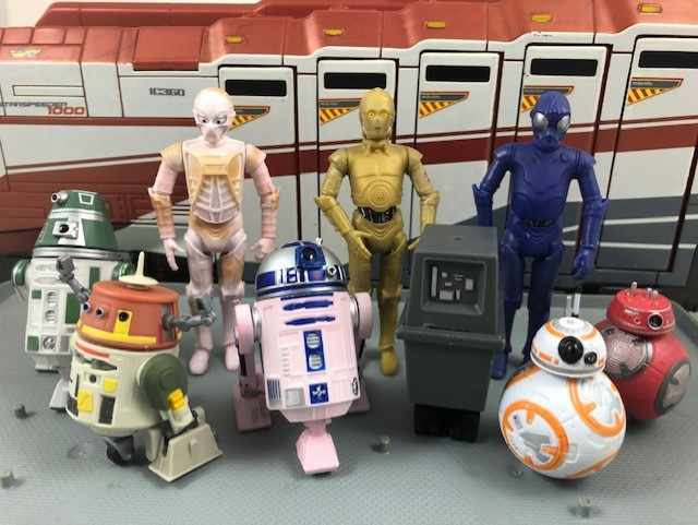 Galaxy's Edge Color-Changing Droids Visual Guide