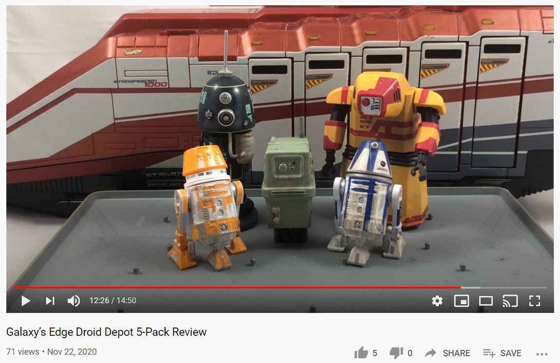 Unboxing Disney's New Droid Depot 5-Pack Set