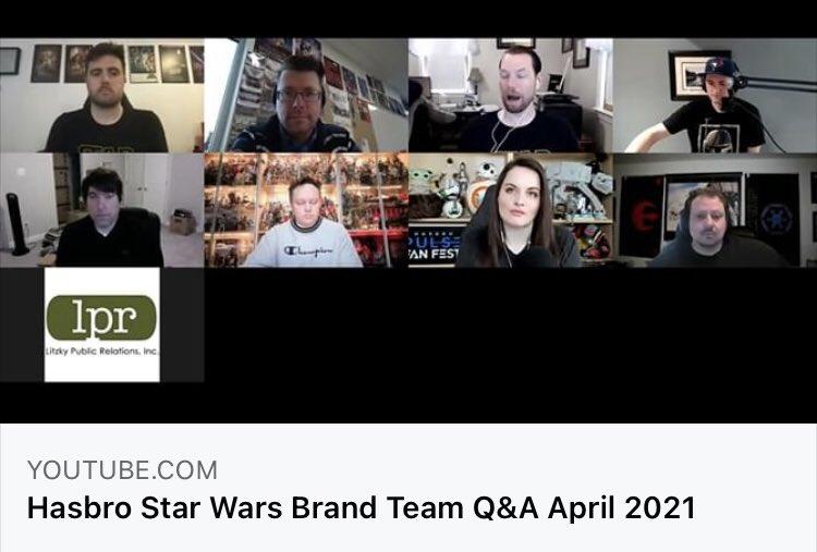 Hasbro's Star Wars Brand Team Q&A – April 2021